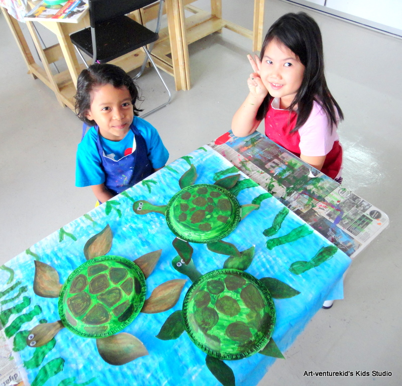 Advertisements  sc 1 st  ART-VENTURE KIDS\u0027 STUDIO & SEA TURTLE FROM PAPER PLATE | ART-VENTURE KIDS\u0027 STUDIO