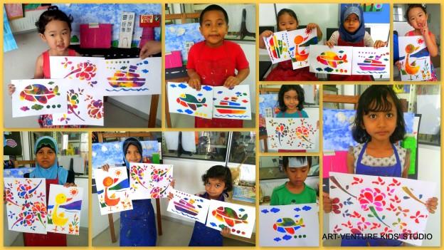 Stencil -Art-Venture Kids' Studio