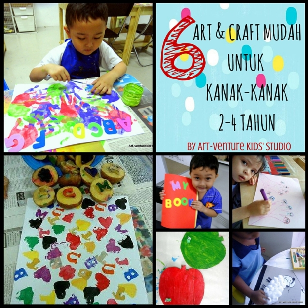 6 aktiviti art & CRAFT mudah untuk bayi